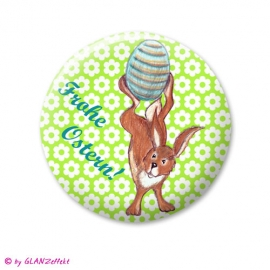 Button oder Magnet Frohe Ostern No.1