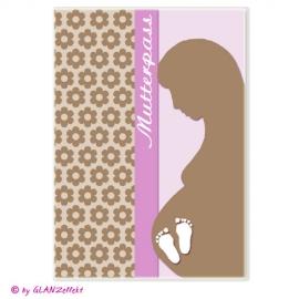 Mutterpassumschlag Babybauch No.6