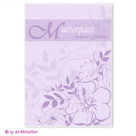 Mutterpassumschlag Hibiskus No.3