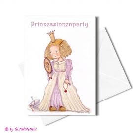 Klappkarte Prinzessin