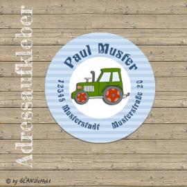 Aufkleber Traktor