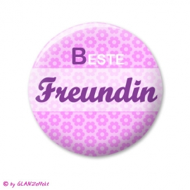 Button Beste Freundin