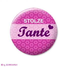 Button Stolze Tante