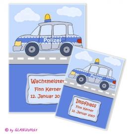 U-Heft & Impfpass im Set Polizei