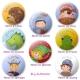 Kindergeburtstagsset Buttons No.1