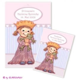 U-Heft & Impfpass im Set Prinzessin No.1