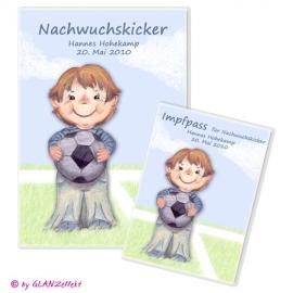 U-Heft & Impfpass im Set Fußball No.1