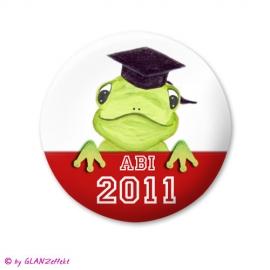Abi Button Froschkönig + Jahr