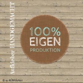 Aufkleber Eigenproduktion No.1