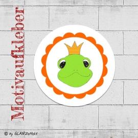 Aufkleber Froschkönig No.1