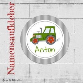 Aufkleber Traktor No.3