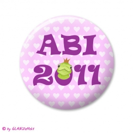 Abi Button Froschkönig No.2