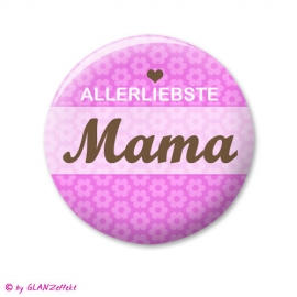 Button Allerliebste Mama